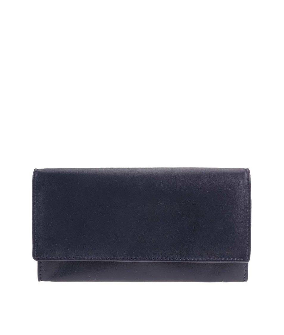Modrá kožená peněženka 1642