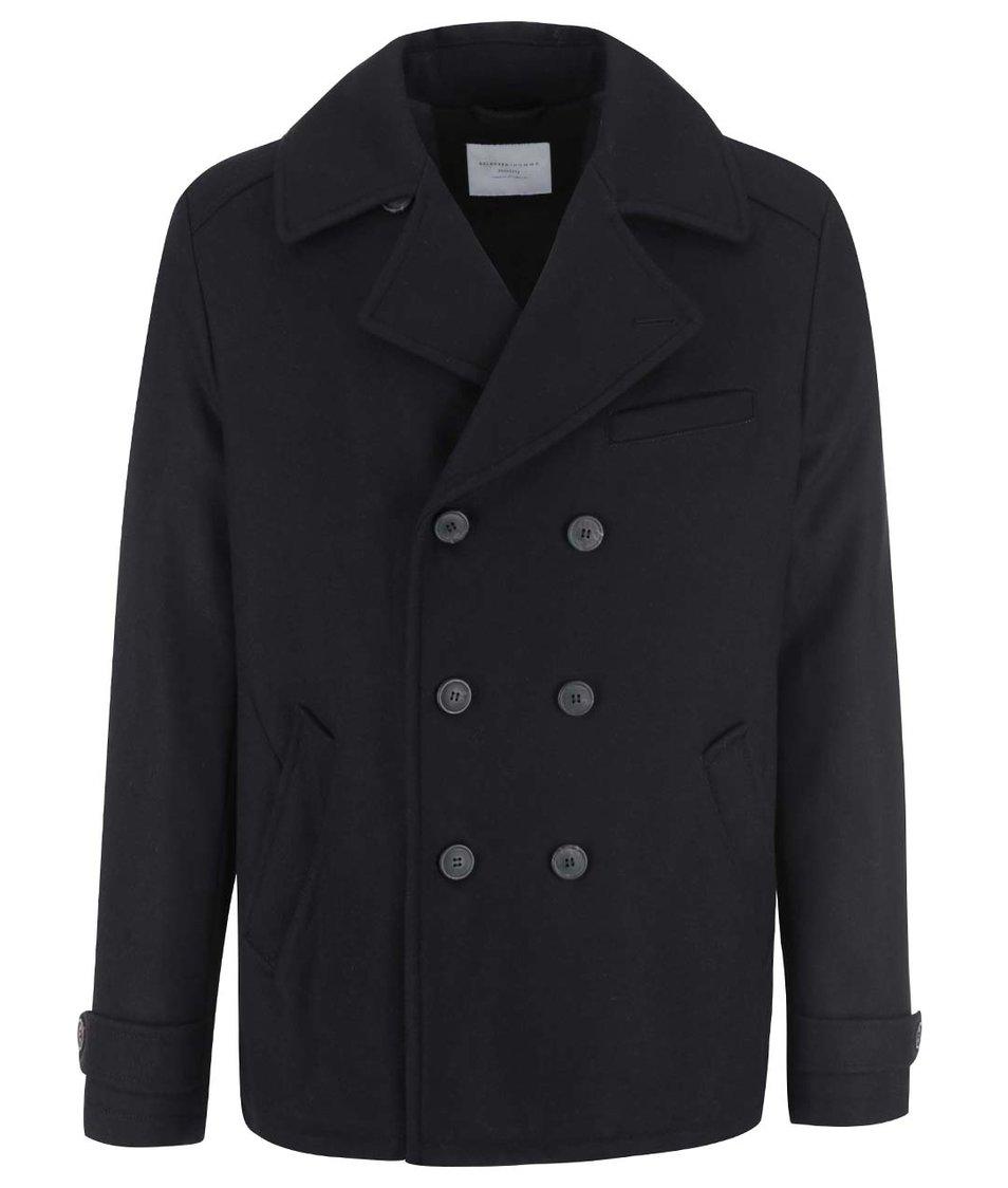 Černý kabát Selected Mercer