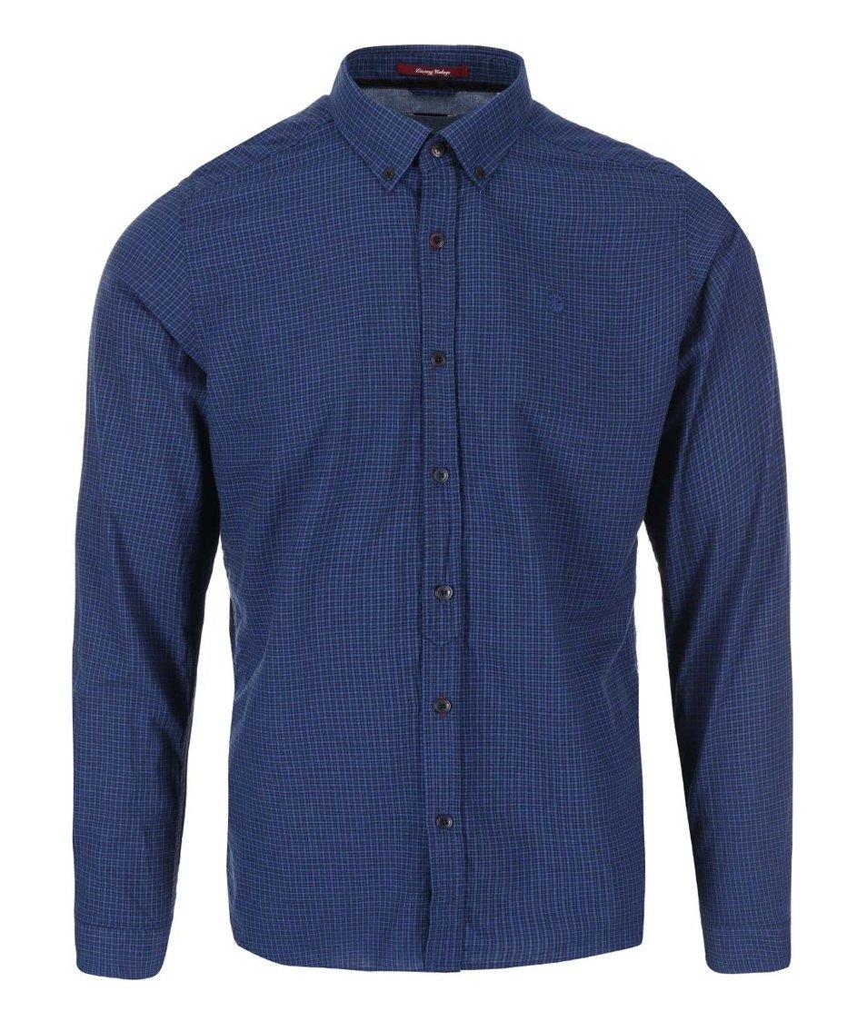 Černo-modrá kostkovaná košile Dstrezzed