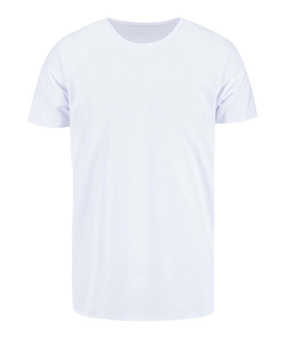 Bílé triko Selected Pima