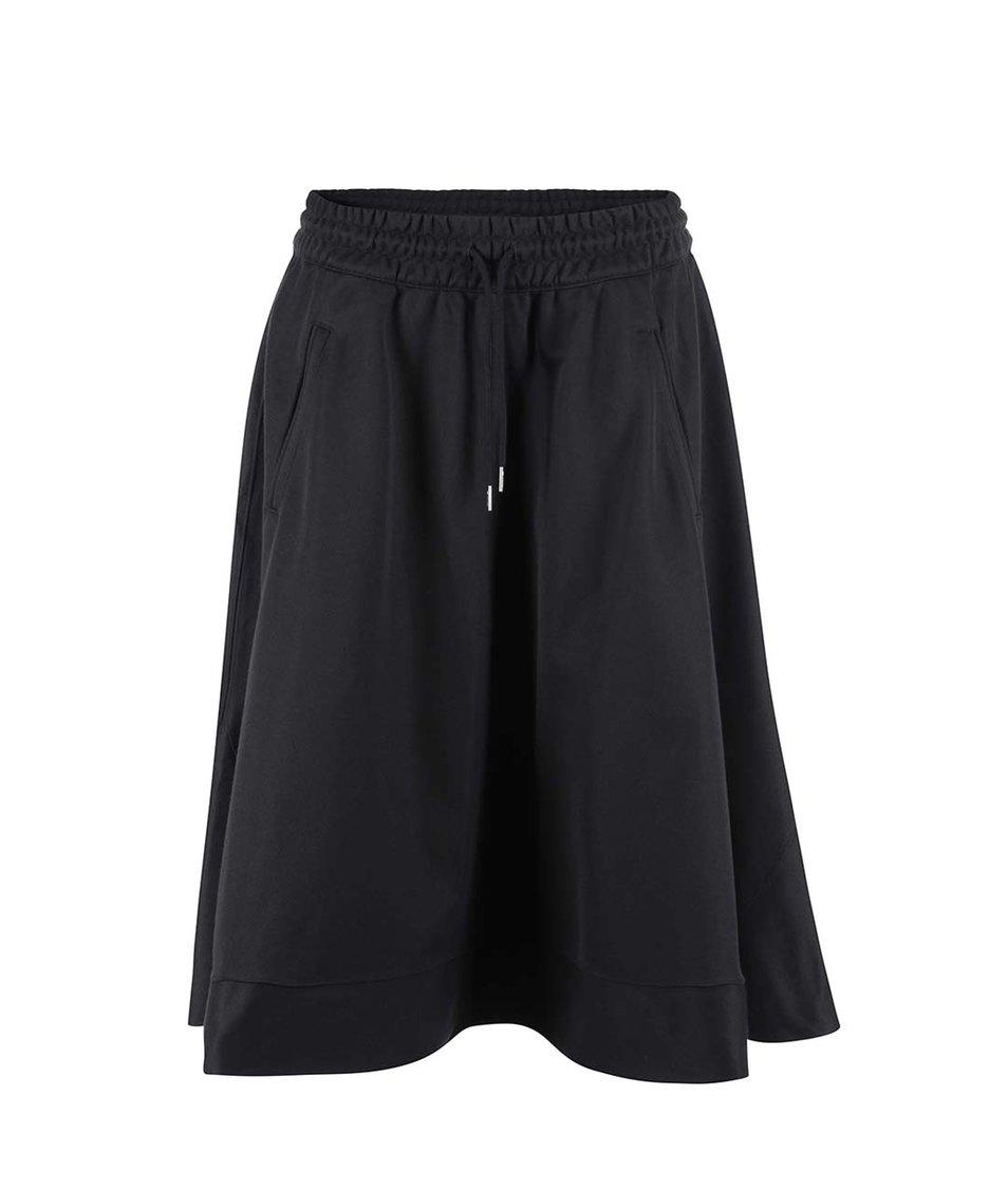 Černá delší sukně adidas Originals Bell