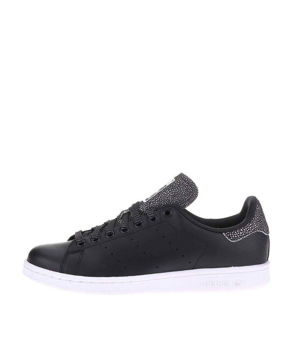 Černé dámské tenisky adidas Originals Stan Smith