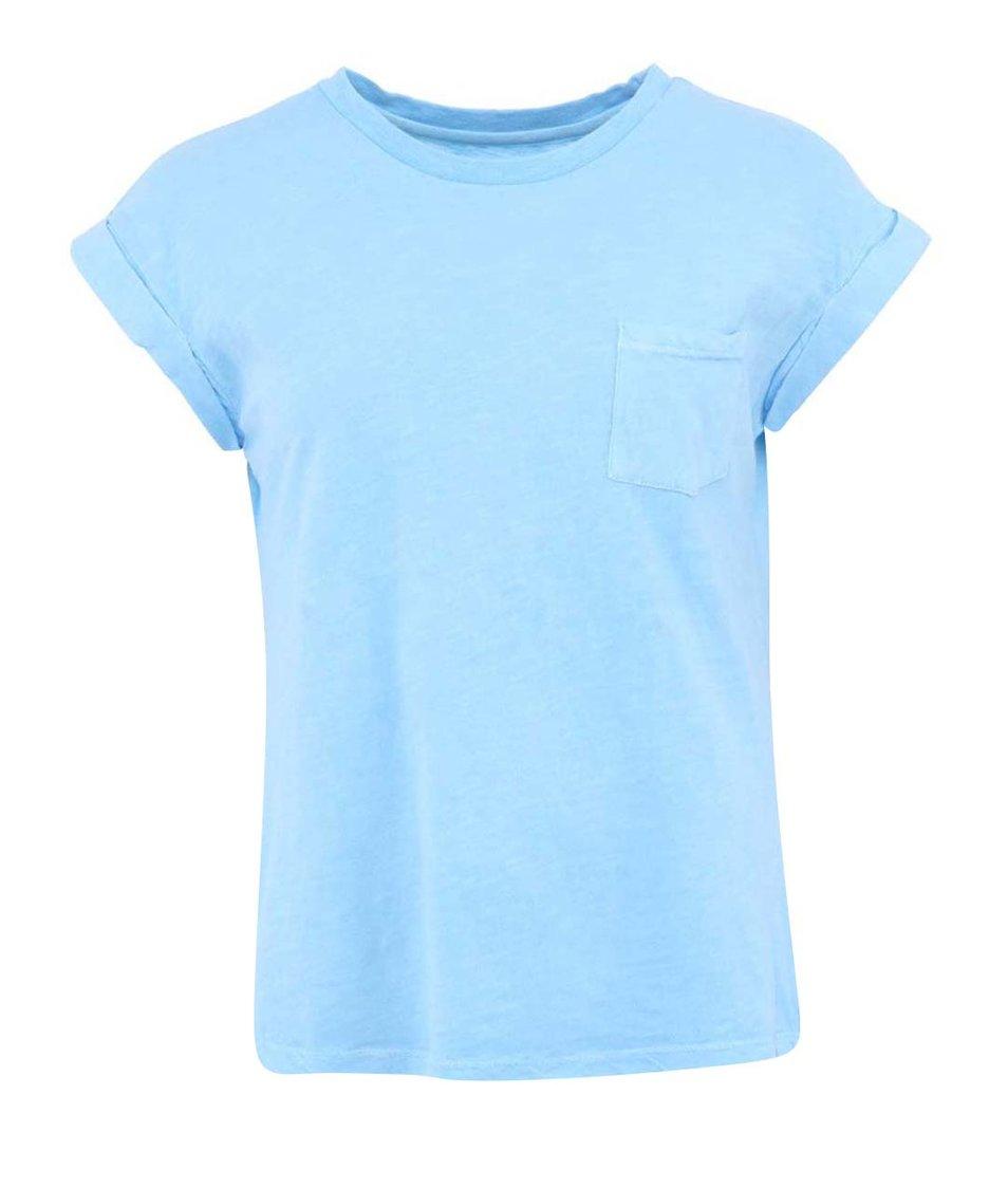 Modré dámské tričko Bellfield Ega