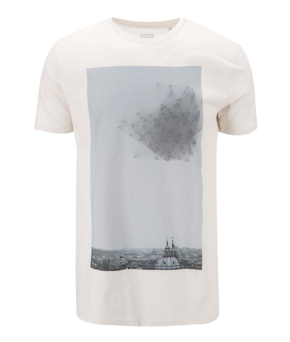 Krémové pánské triko ZOOT Lokál Sv. Mikuláš