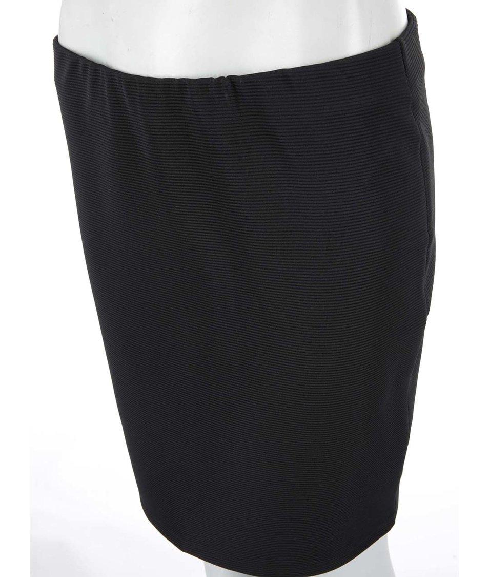Černá pouzdrová sukně Vero Moda Riba