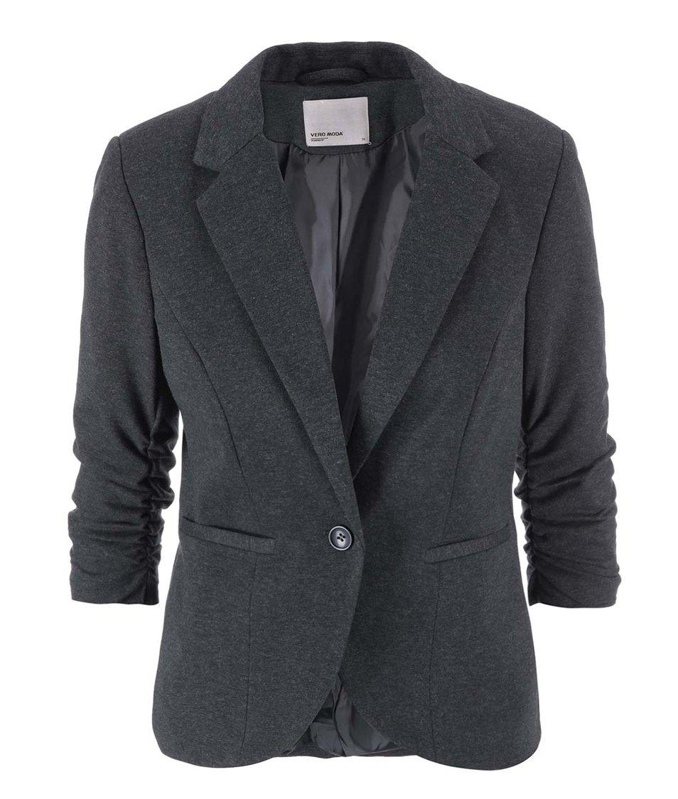 Tmavě šedý blejzr Vero Moda Sparkle