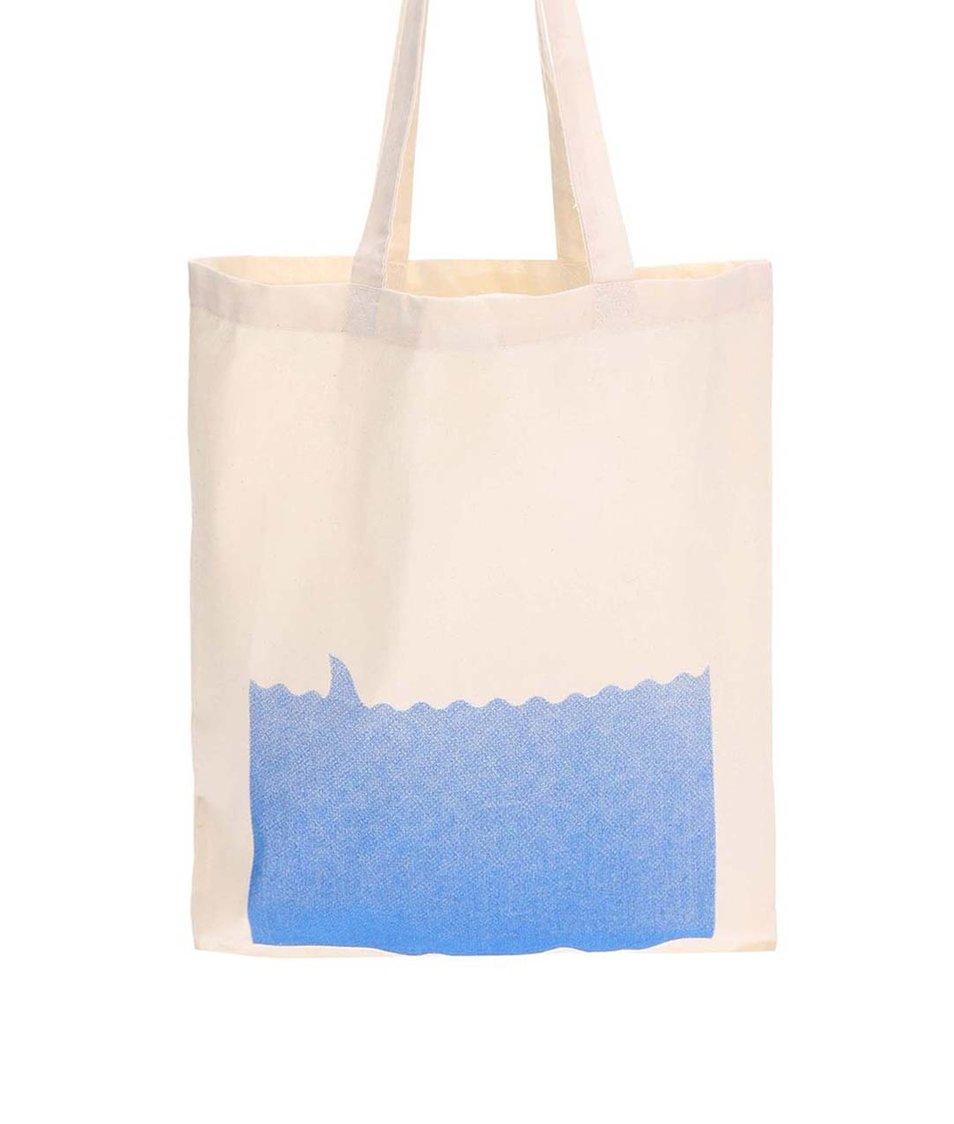 Krémová plátěná taška ZOOT Originál Čelisti
