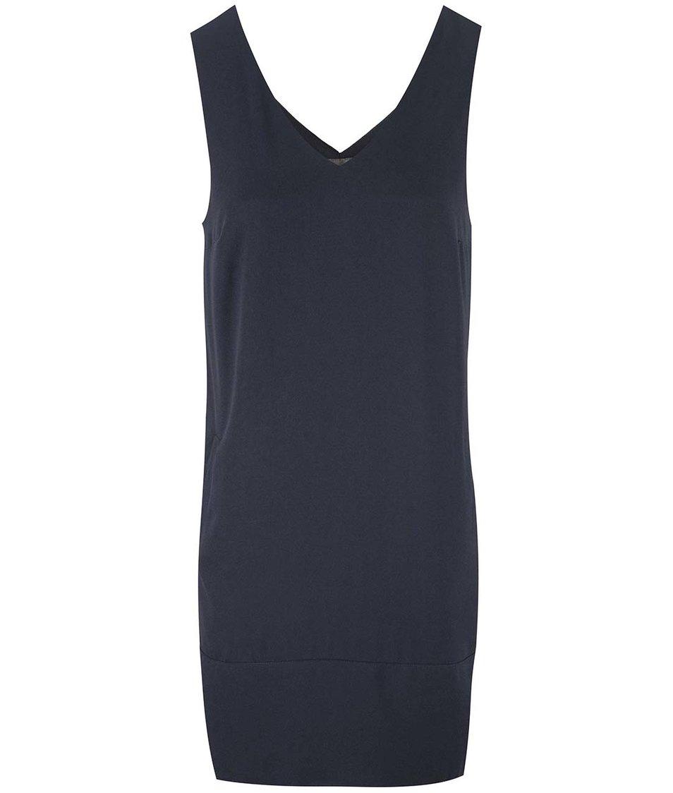 Tmavě modré šaty Vero Moda Cosmic