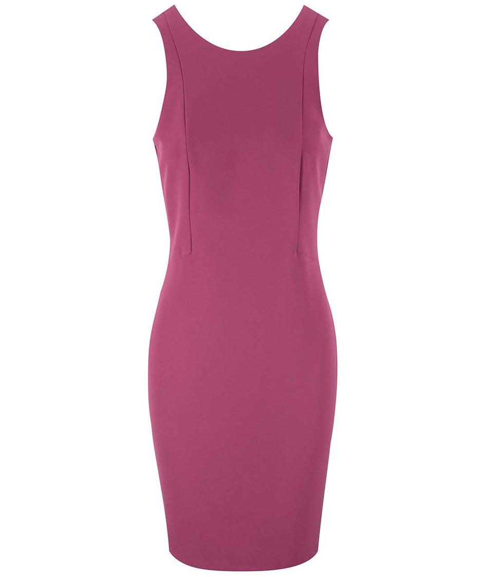 Fuchsiové šaty Vero Moda Tennie