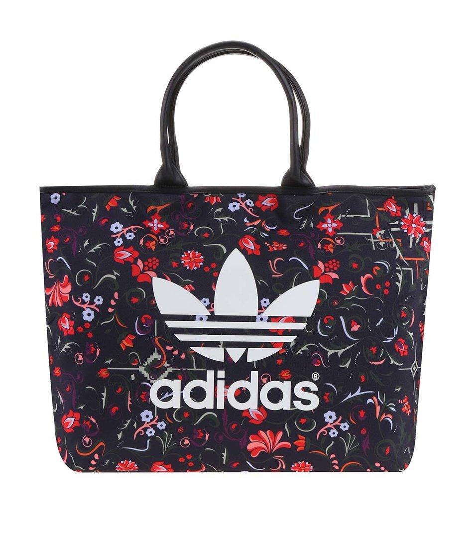 Černá vzorovaná kabelka adidas Originals Moscow