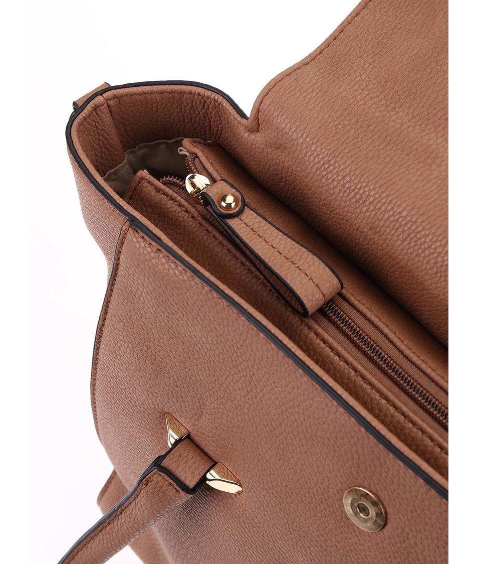 Béžová kabelka Dice Handbags Amelia