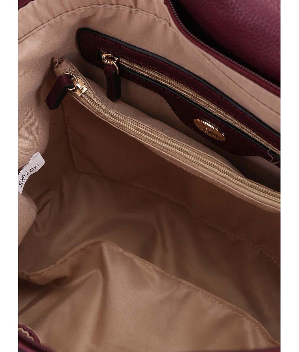 Vínová kabelka Dice Handbags Amelia