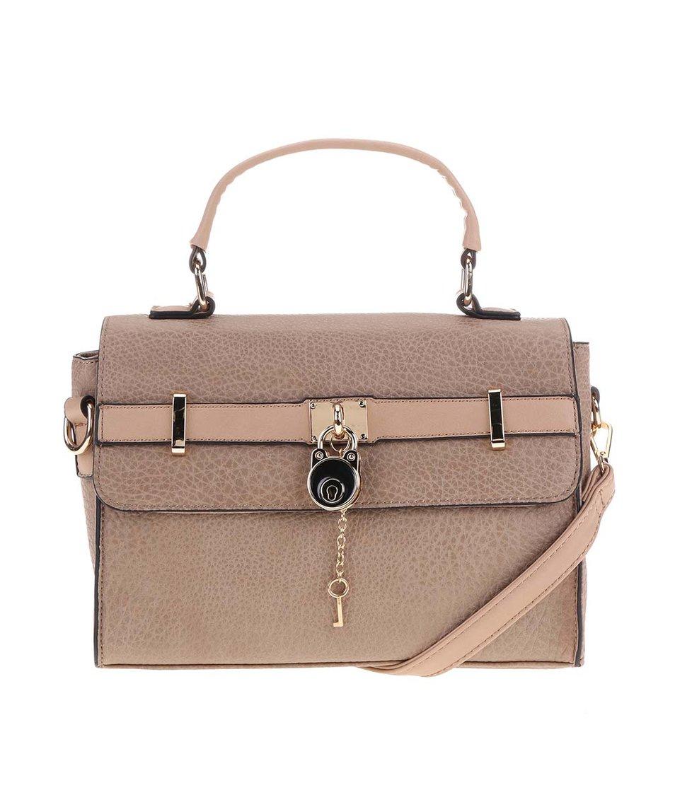 Béžová menší kabelka Gionni Sybil