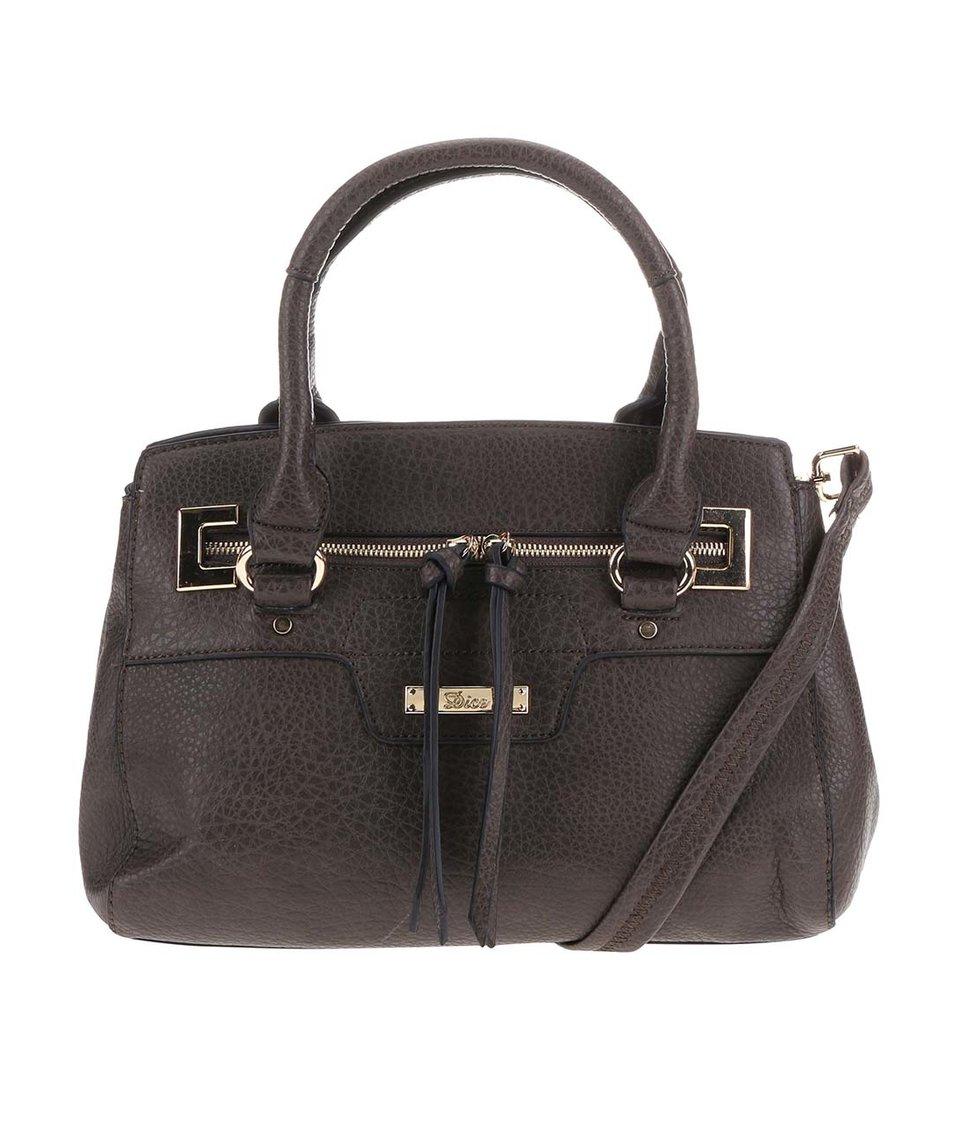 Hnědá kabelka Dice Handbags Bianca
