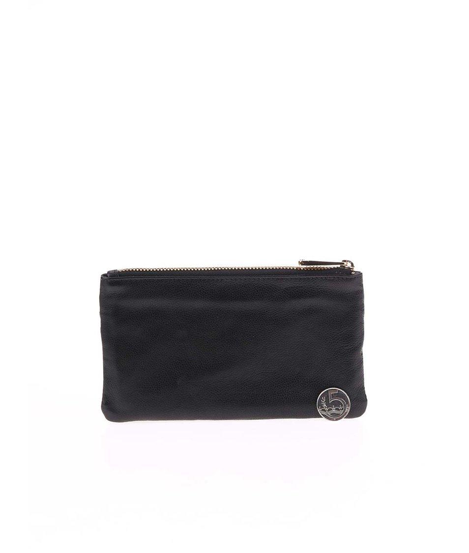 Černá kožená peněženka Liberty by Gionni Zuri