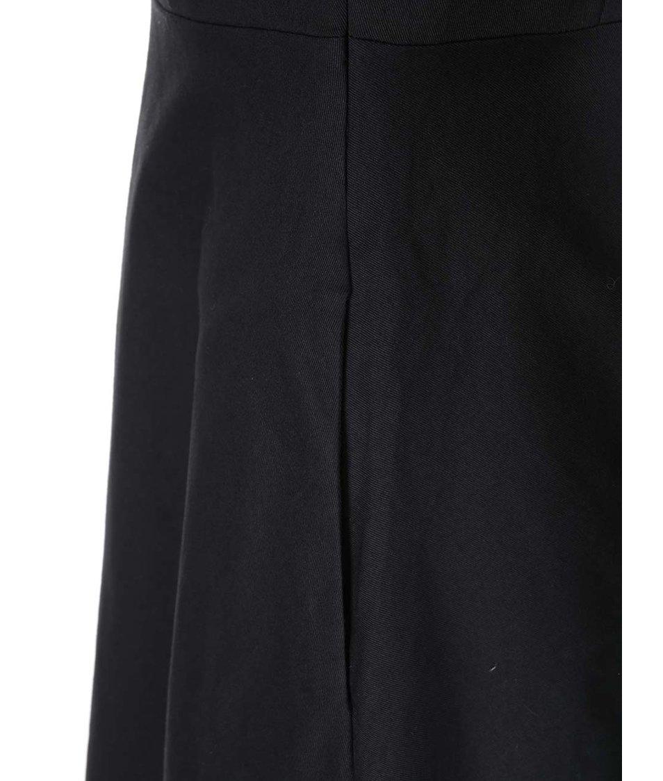 Černé košilové šaty Fever London Monty