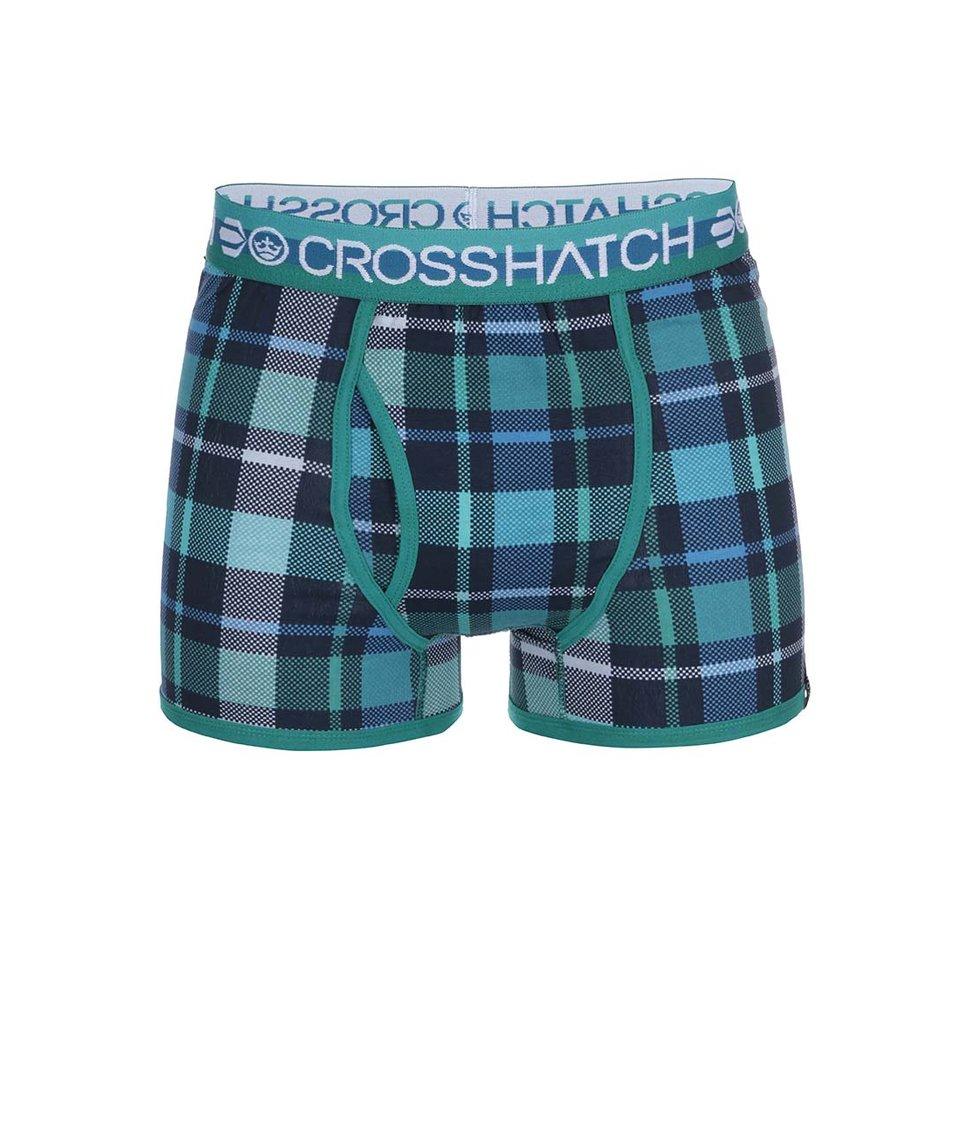 Sada tří zelených boxerek Crosshatch Tirian