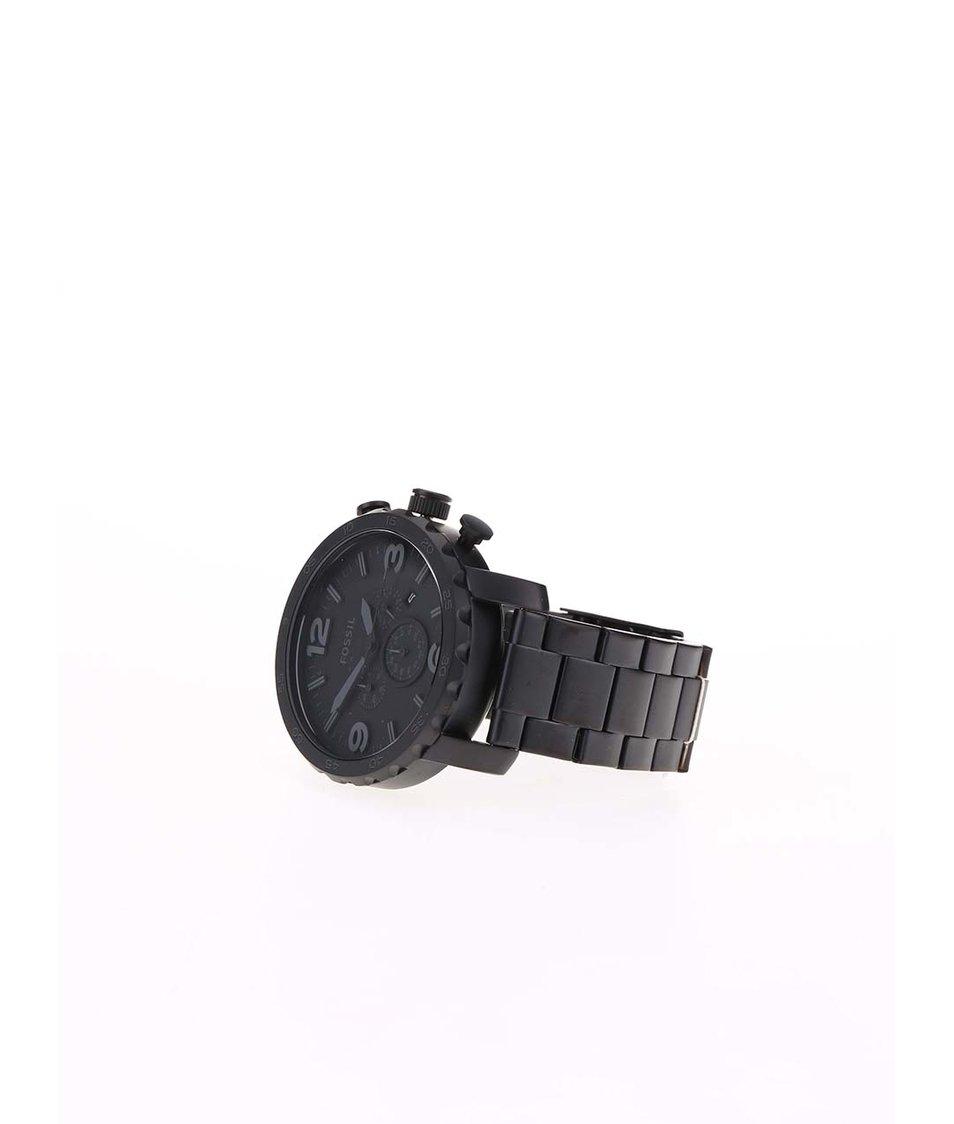 Černé pánské hodinky Fossil Nate Černé pánské hodinky Fossil Nate ... a36131ab17