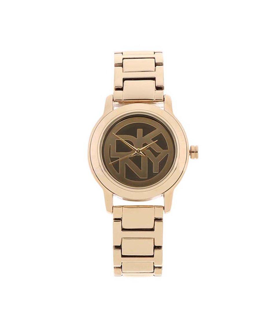 Dámské hodinky ve zlaté barvě DKNY Tompkins