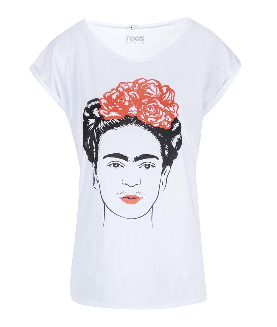 Bílé dámské tričko ZOOT Originál Frida