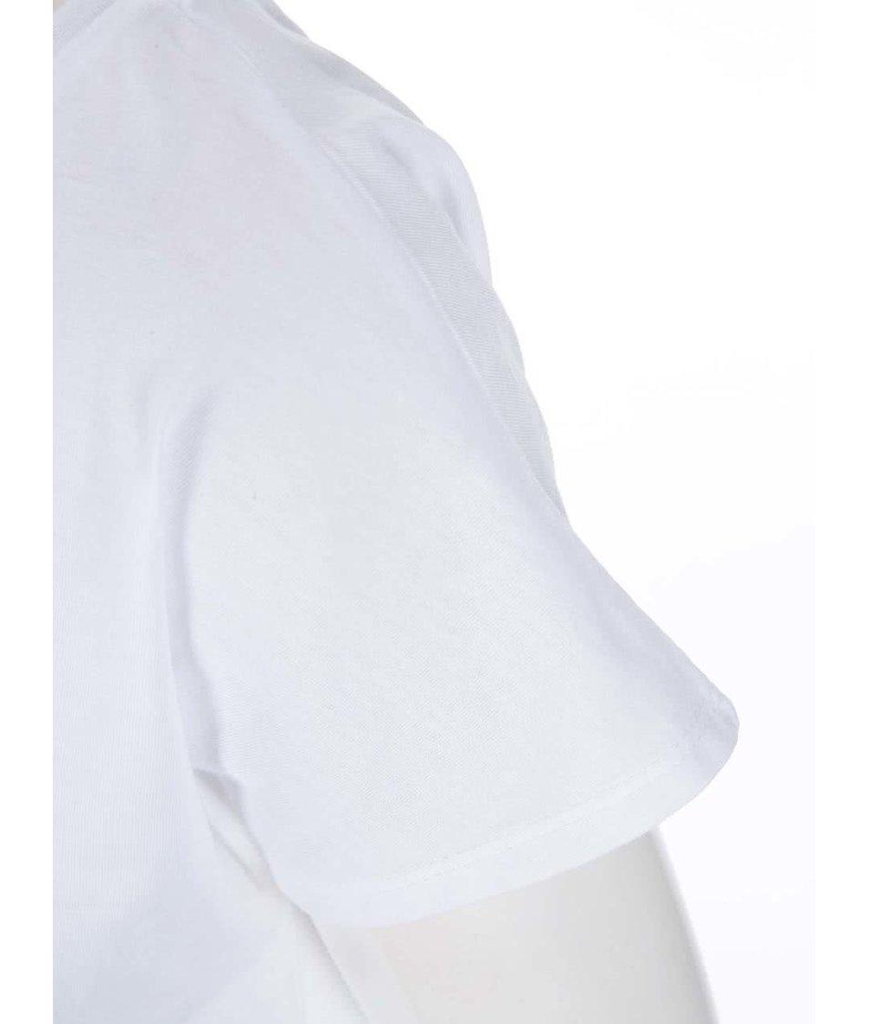 Bílé dámské tričko ZOOT Originál Knír