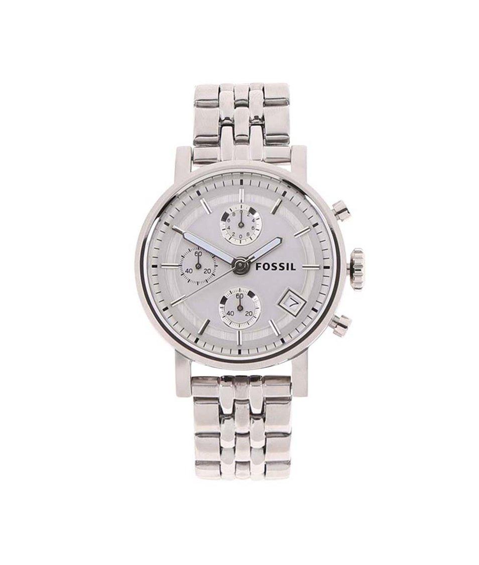 Dámské hodinky ve stříbrné barvě Fossil Original Boyfriend