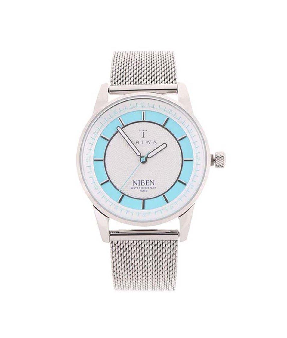 Unisex hodinky ve stříbrné barvě TRIWA Niben