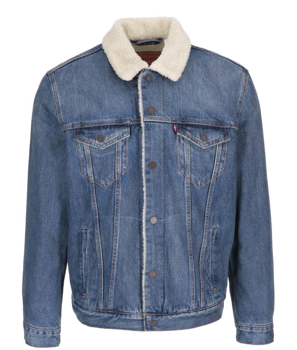 Modrá pánská džínová bunda Levi's®
