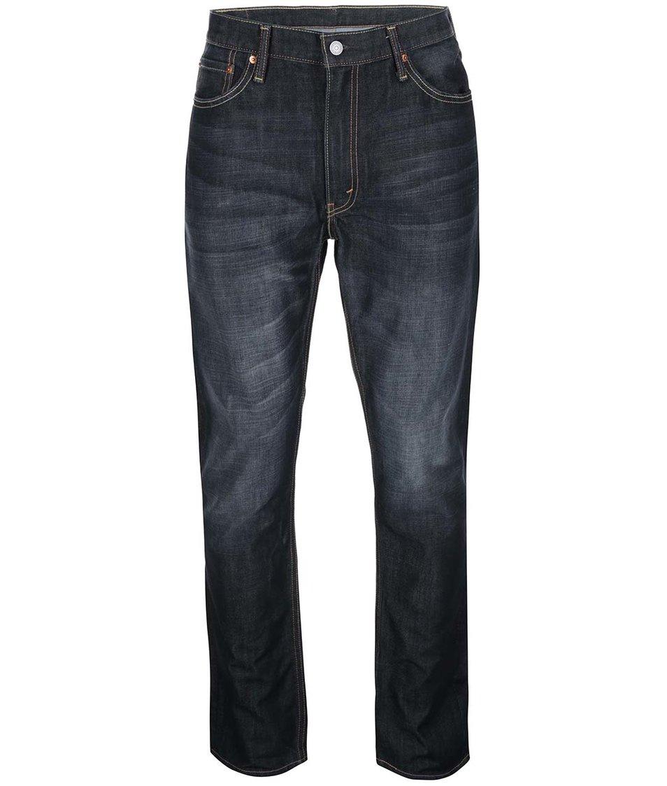 Tmavě modré pánské slim straight fit džíny Levi's® 513