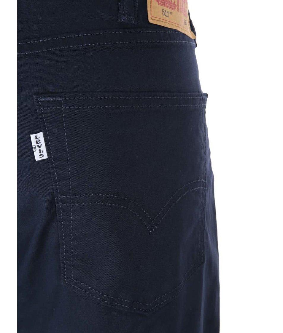 Tmavě modré pánské slim fit džíny Levi's® 511
