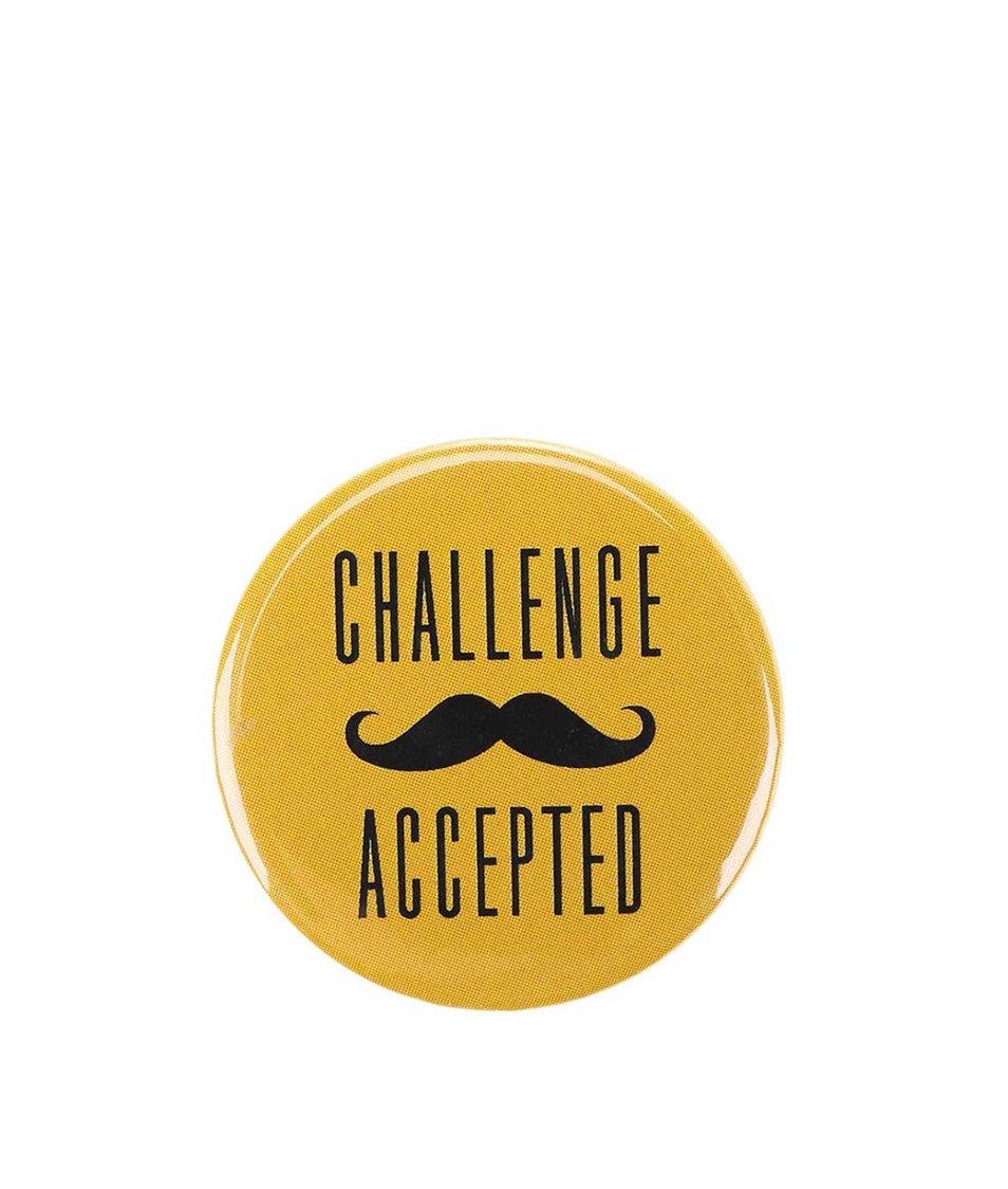 Velká žlutá placka ZOOT Originál Challenge Accepted