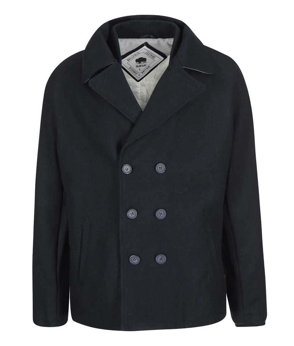 Tmavě modrý kabát Bellfield Stoll