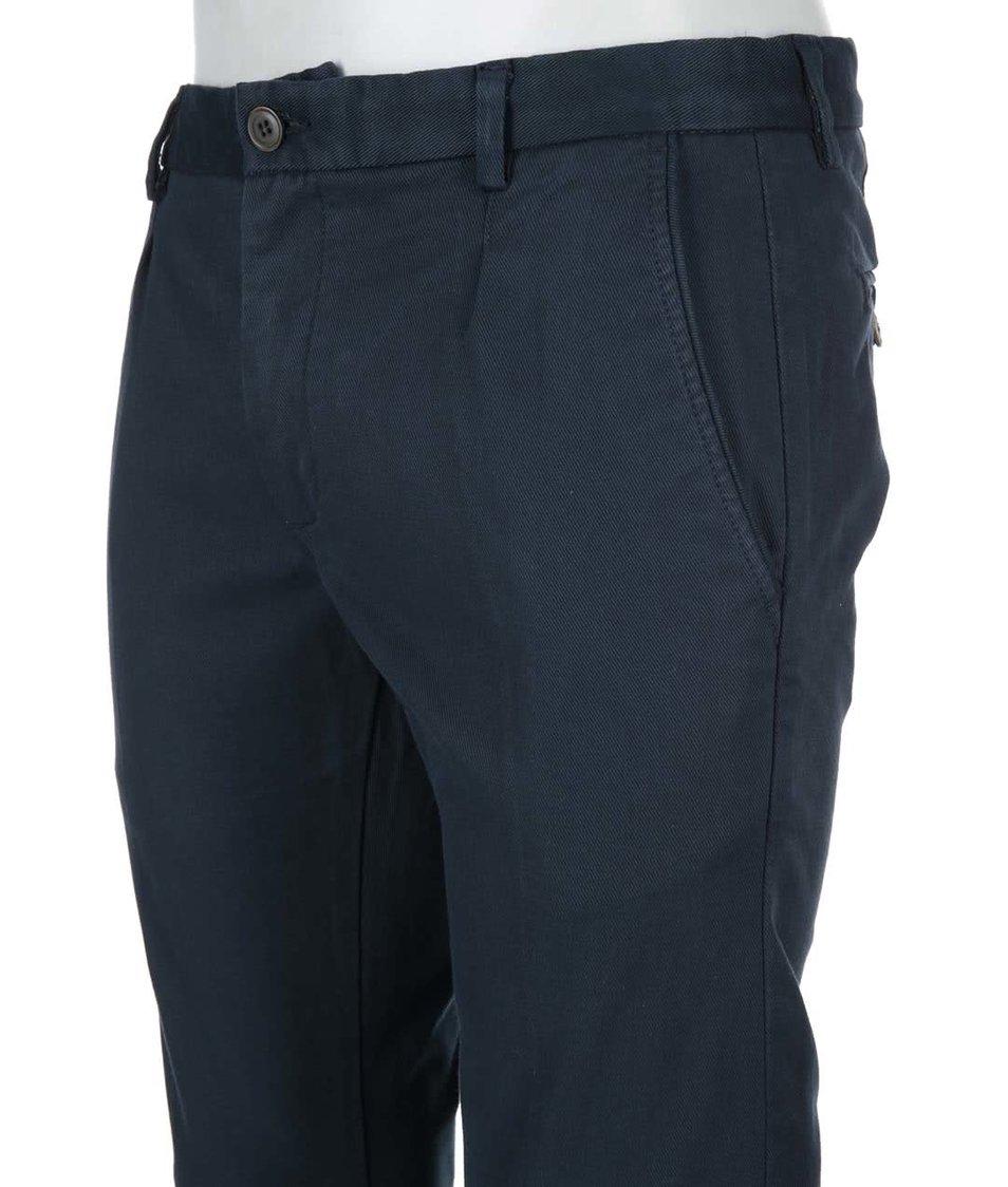 Tmavě modré kalhoty Selected Lucas