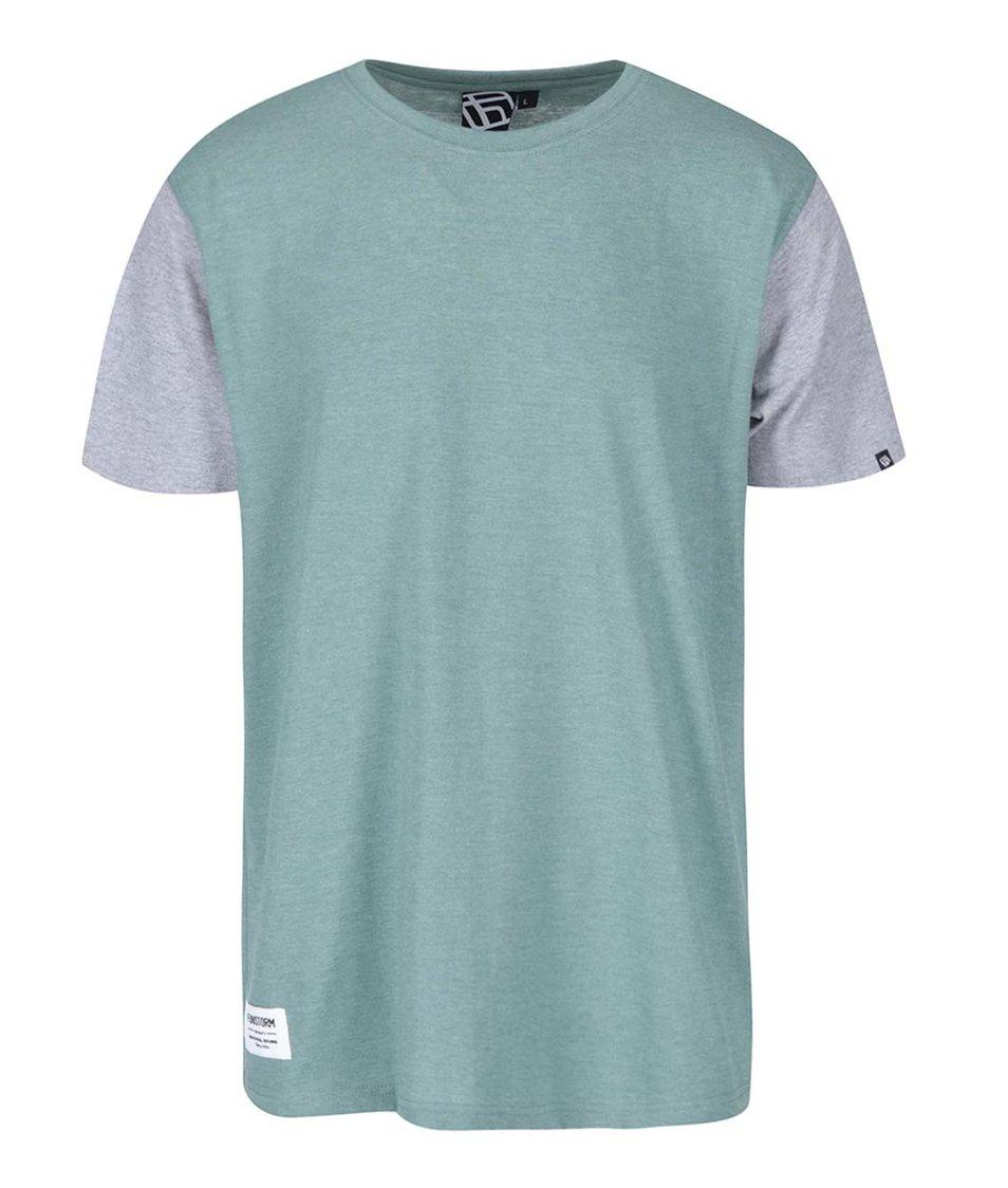 Zelené pánské triko s krátkým rukávem Funstorm Toni