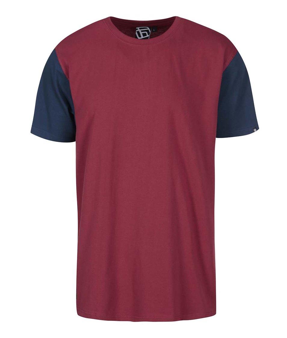 Červené pánské triko s krátkým rukávem Funstorm Toni