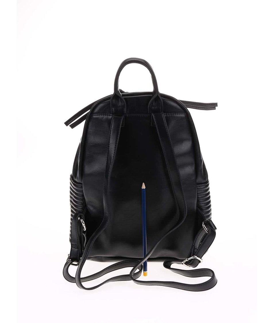 Černý prošívaný batoh Tamaris Sophie