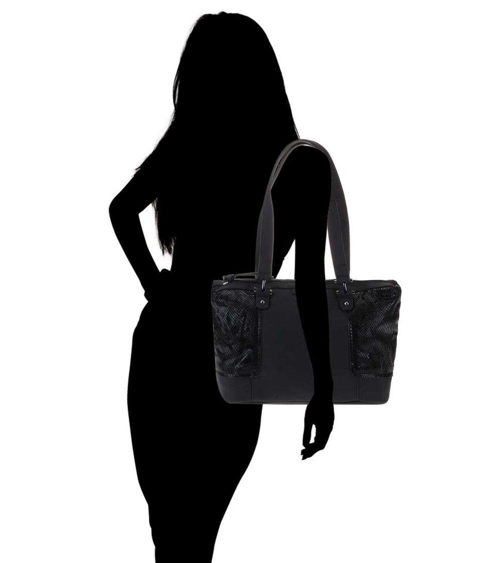 Černá kabelka Tamaris Lina
