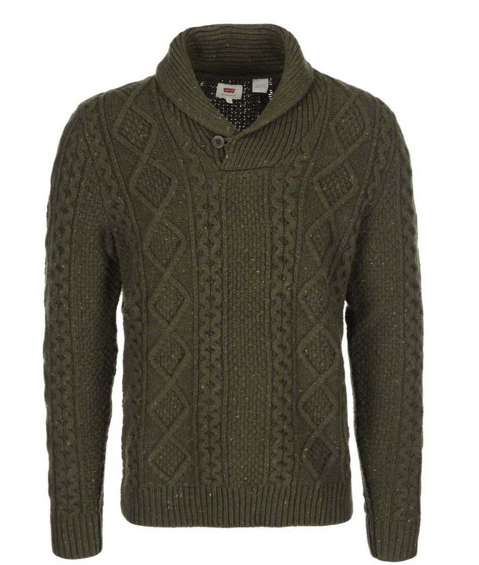 Khaki pánský svetr Levi's®
