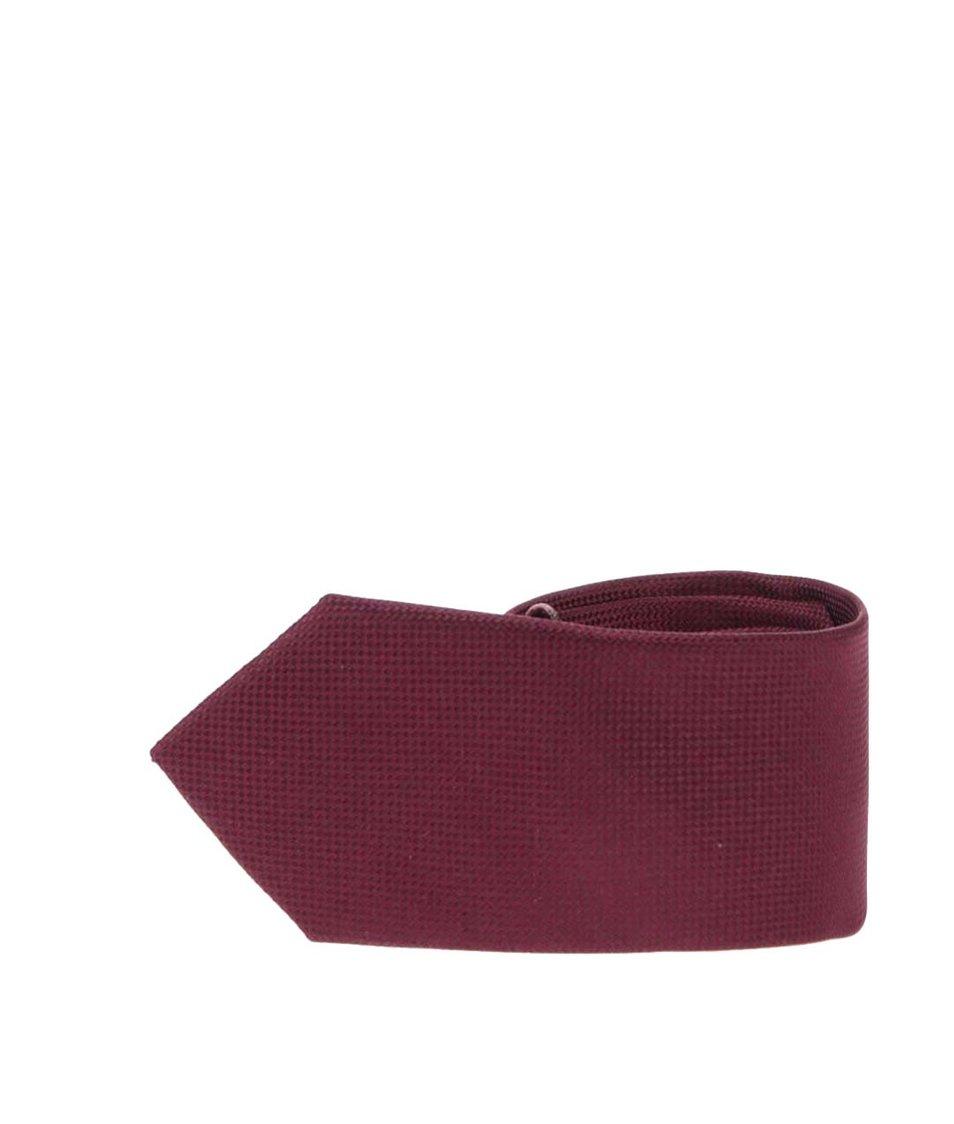Vínová kravata Selected Noos