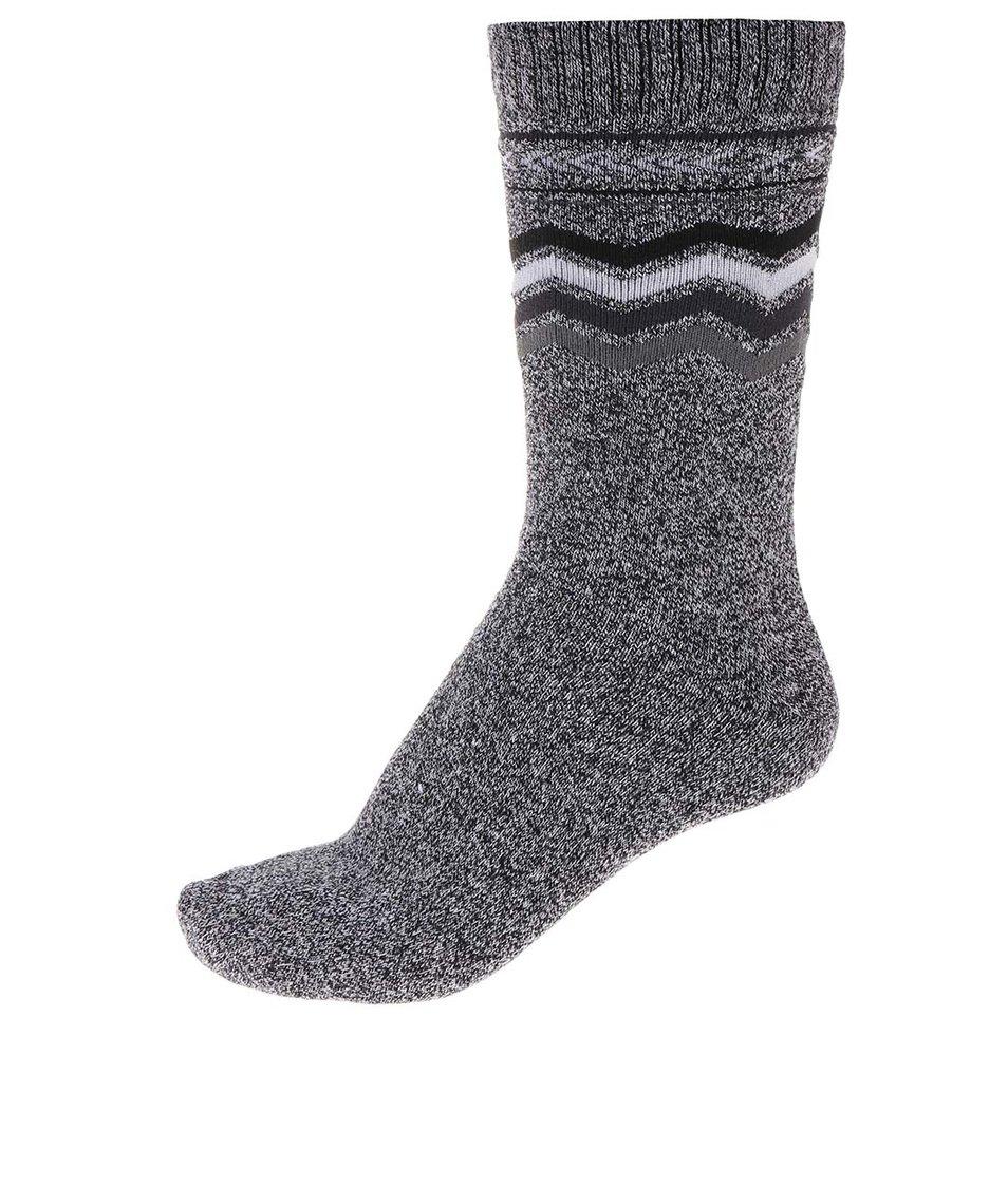 Šedé vzorované ponožky Jack & Jones Heavy