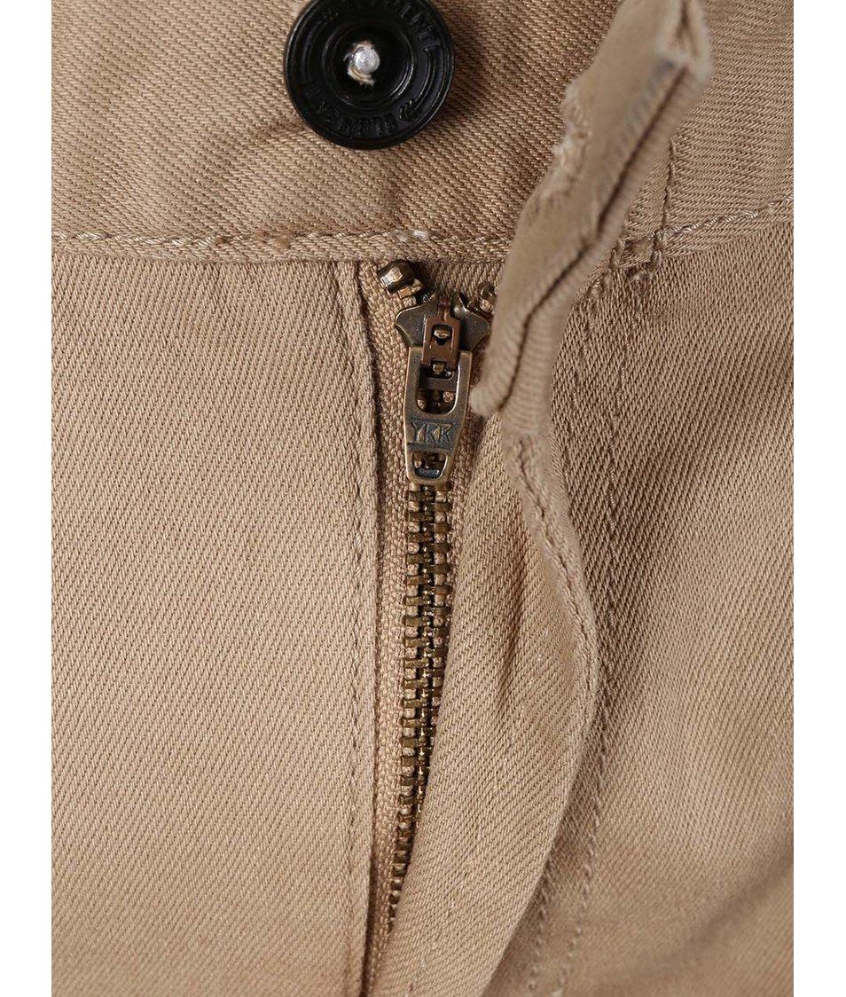 Béžové slim džíny Element Owen