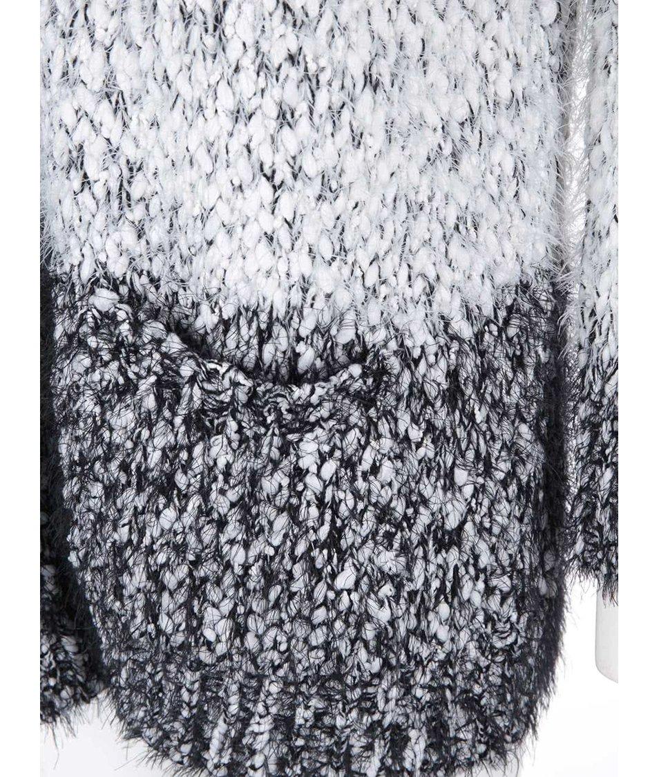 Černo-bílý pruhovaný cardigan Haily´s Fury