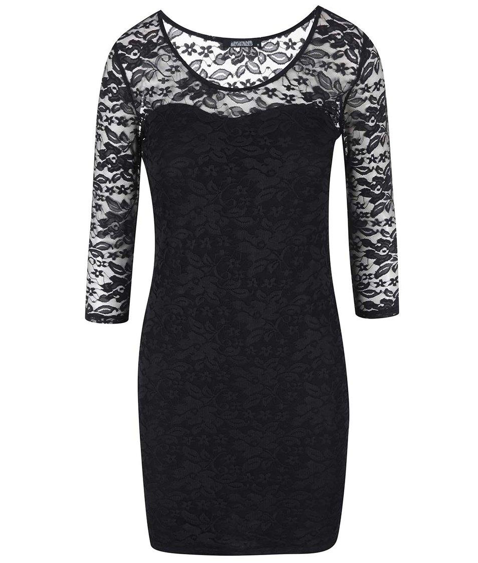 Černé krajkové šaty Haily´s Hazely