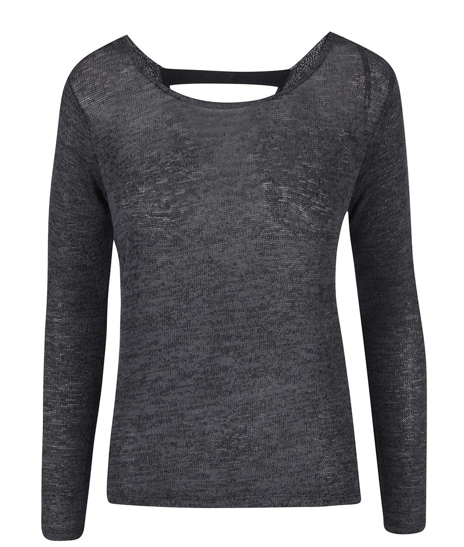 Černé žíhané tričko Haily´s Adele