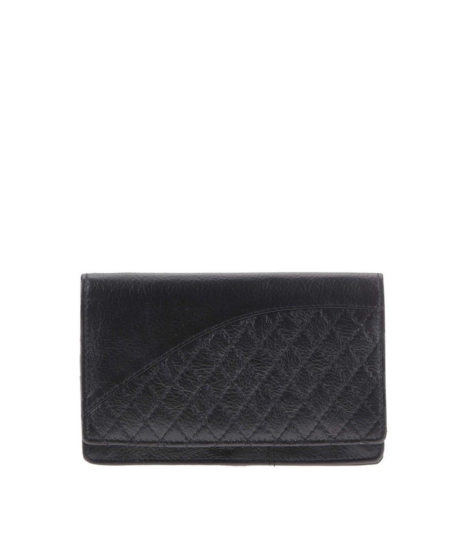 Černá dámská kožená peněženka Golunski