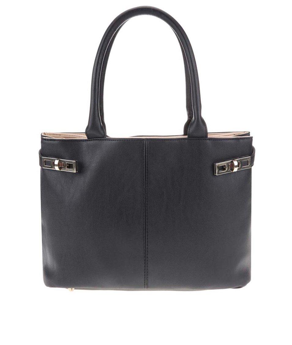 Černá kabelka s běžovými detaily Dorothy Perkins