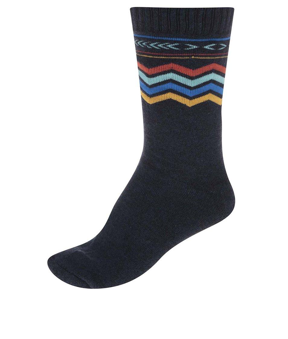Tmavě modré ponožky s barevným vzorem Jack & Jones Heavy