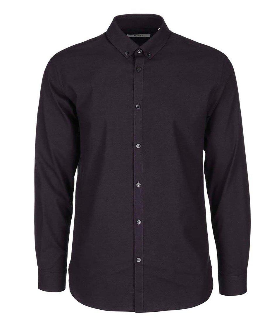 Tmavě fialová košile Jack & Jones Nordic