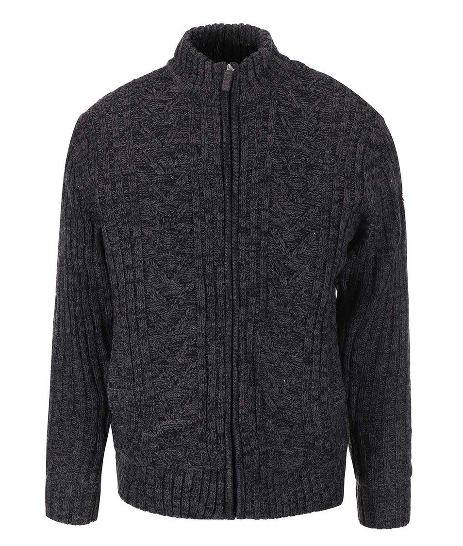 Tmavě šedý svetr s podšívkou Jacks