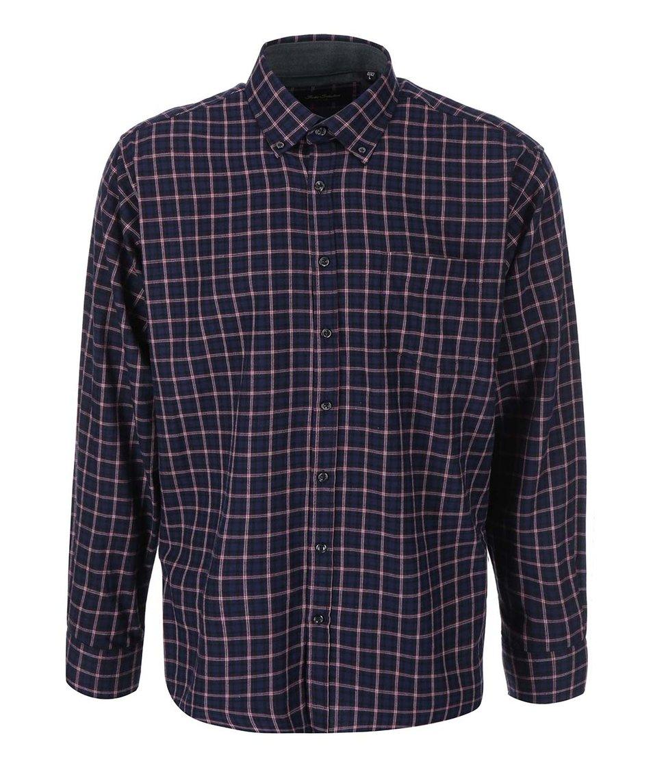 Červeno-modrá košile s kostkovaným vzorem Jacks